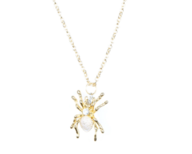 Drew Tessier Spider Necklace