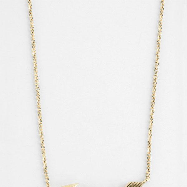 Nadri Boxed Arrow Pendant Necklace