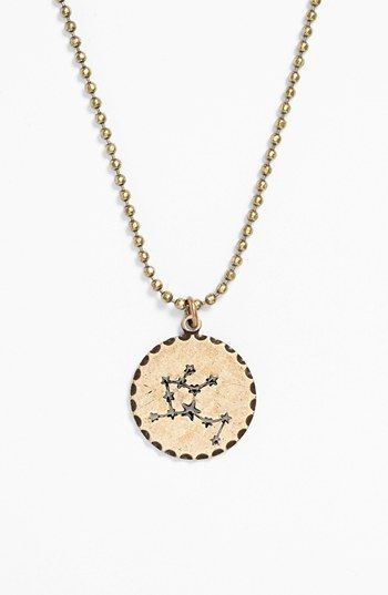 Bonnie Jonas Zodiac Constellation Pendant Necklace
