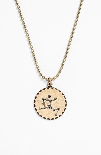 Bonnie Jonas Zodiac Constellation Pendant Necklace