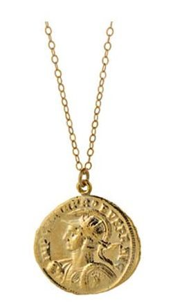 Molly Jane Designs Ancient Roman Coin Necklace