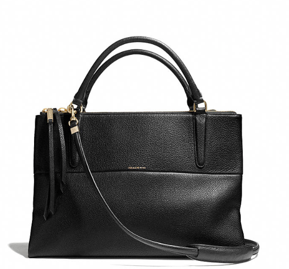 Coach The Borough Bag in Pebbled Leather