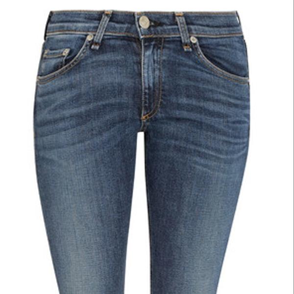 Rag & Bone Capri Cropped Skinny Jeans
