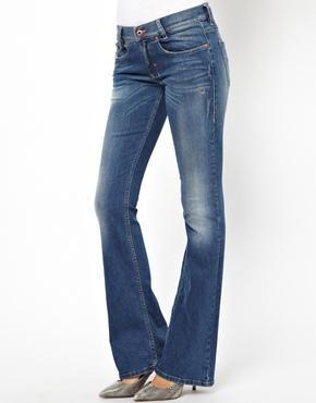Diesel Louveboot Bootcut Jeans