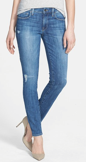 Genetic Denim Stem Mid Rise Skinny Jeans