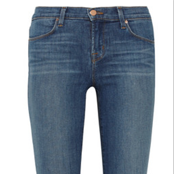 J Brand Stacked Skinny Mid-Rise Jeans