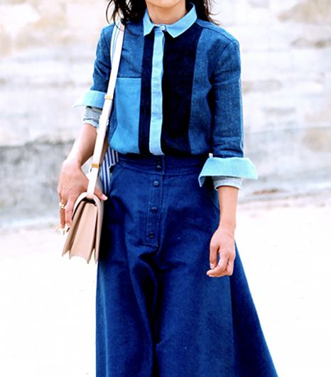 Get It While It's Hot: Patchwork Denim