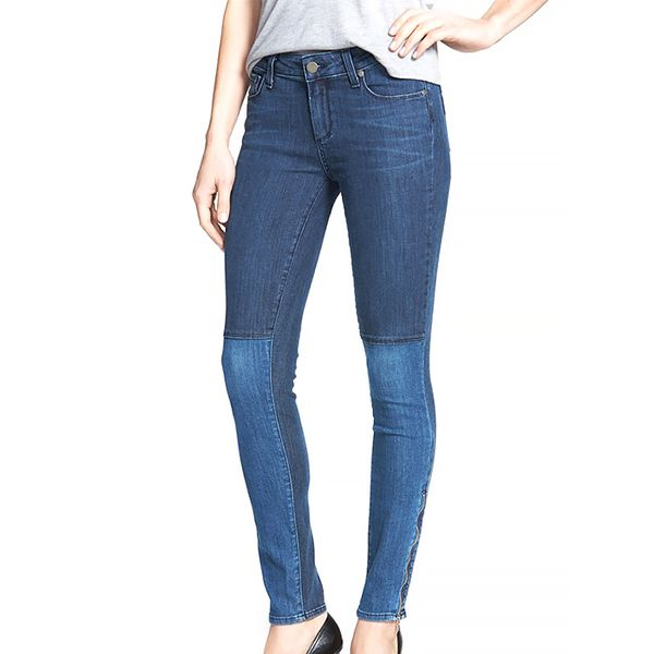 Paige Denim Cara Patchwork Ultra Skinny Jeans