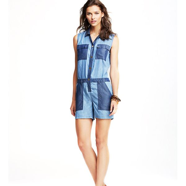 MICHAEL Michael Kors Color Blocked Romper