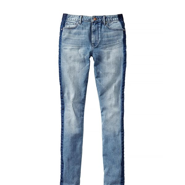 Gap 1969 Side-Stripe High-Rise Skinny Jeans