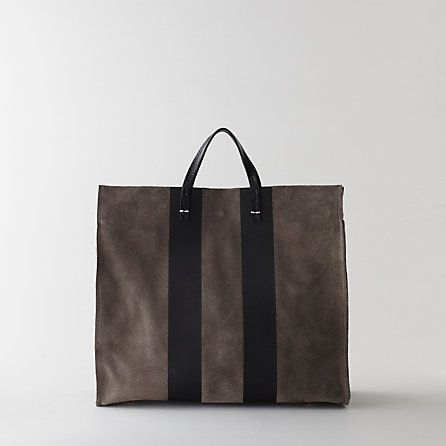 Clare Vivier Striped Simple Tote