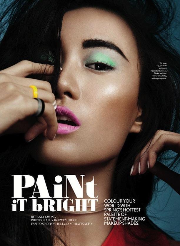 Paint It Bright: Beauty Inspiration From Glow Magazine