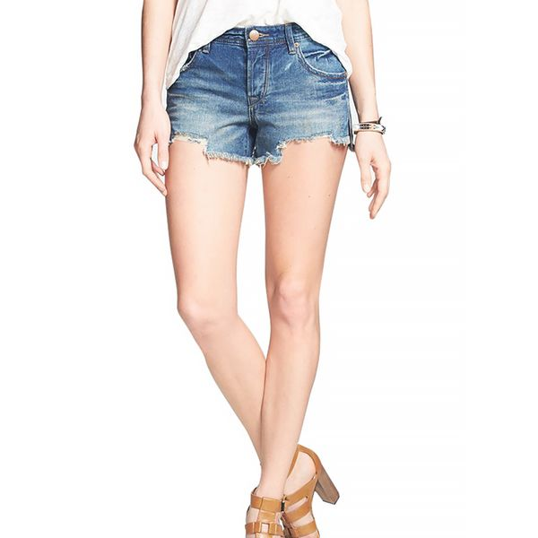 Free People Sharkbite Denim Cutoffs