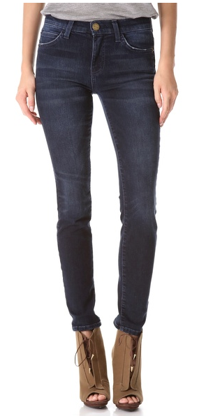 Current/Elliott The High Rise Skinny Jeans