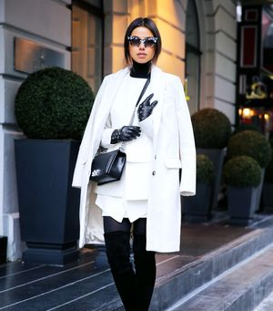 6 Stylish Ways To Wear Black & White