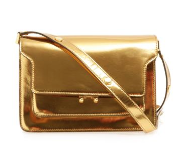Marni Small Tri-Compartment Shoulder Bag