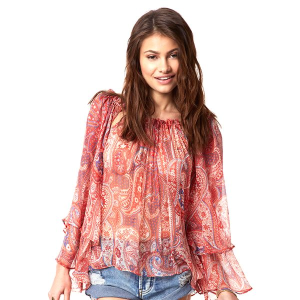 Ale by Alessandra Sonoran Blossom Blouse