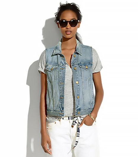 Madewell,Madewell The Jean Vest