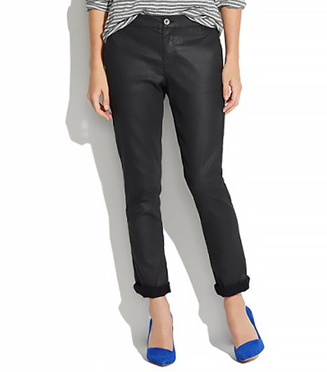 Madewell Coated Denim Rivington Trousers