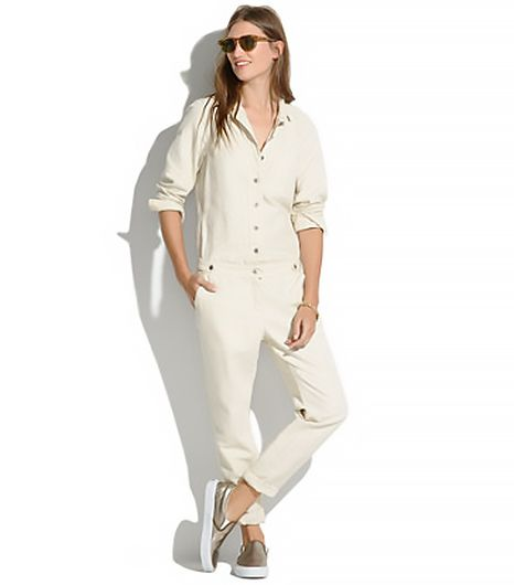 Madewell Chambray Machinist Jumpsuit