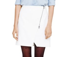Club Monaco Lula Asymmetrical Wrap Skirt