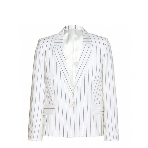 Acne Cali Pinstripe Wool-Blend Blazer