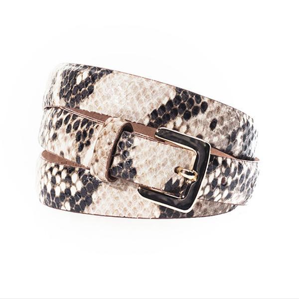 Massimo Dutto Snakeskin Belt
