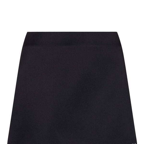 Topshop Lazer Cut Satin Skirt