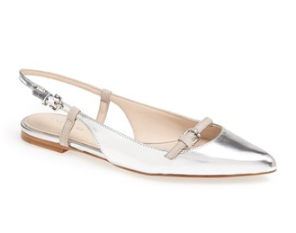 Coach Wooster Pointed Toe Flats