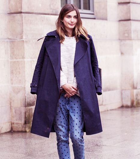 Two Ways To Wear Polka Dot Jeans