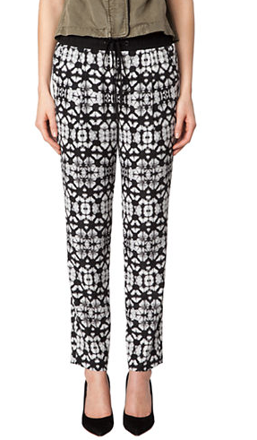 Sanctuary Batik Print Drawstring Pants