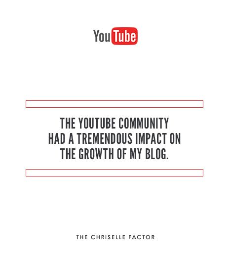 Although I had my blog first, it was when my YouTube channel that helped grow my blog numbers. I would upload a video and then link a blog post to go along with it. The YouTube community has had a...