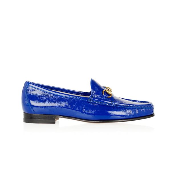 Gucci Horsebit-Detailed Patent Leather Loafers