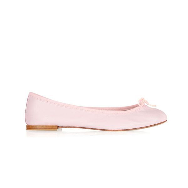 Repetto The Cendrillon Leather Balled Flats