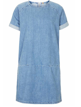 Topshop MOTO T-Shirt Dress