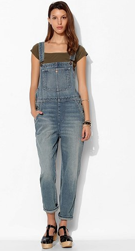 BDG Denim Overalls