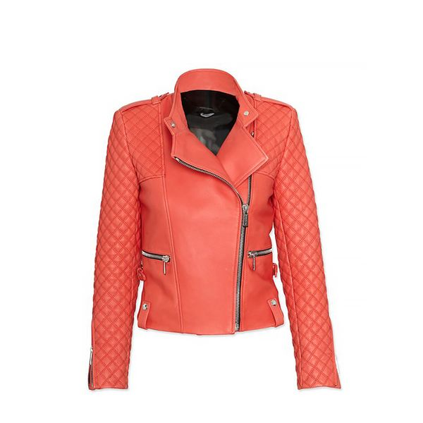 Barbara Bui Exclusive Moto Leather Jacket
