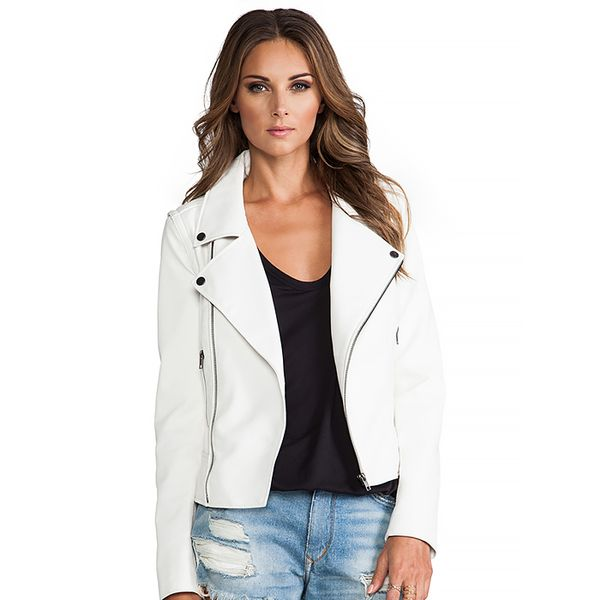 Lovers + Friends Babe Moto Jacket