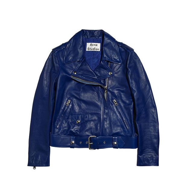 Acne Studios Mape Leather Jacket