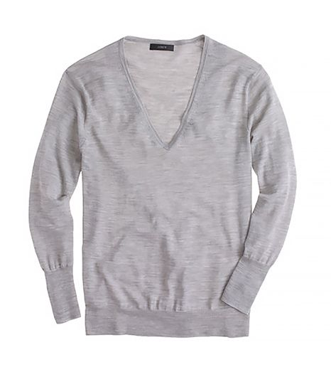 J.Crew Lightweight Merino V-Neck Sweater