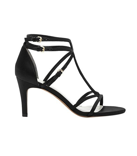 Reiss Laurel Strappy T-Bar Sandals