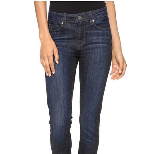 Paige Denim Hoxton High Waist Skinny Jeans
