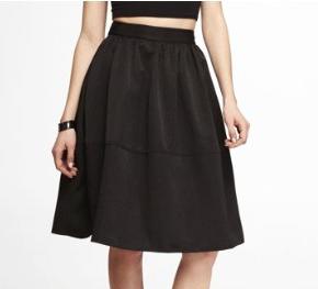 Express High Waist Full Skirt
