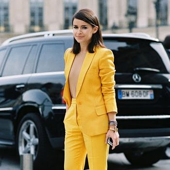 Pantsuits With A Punch: See The Street Style Inspiration