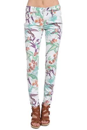 Black Orchid Black Jewel Mid Rise Skinny Jeans