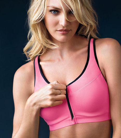 Victoria's Secret Knockout Front-Close Sport Bra