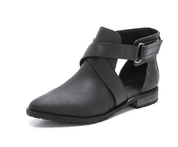 Tibi Cutout Ankle Boots