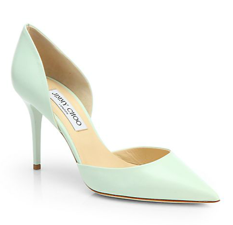 Jimmy Choo Addison Leather d'Orsay Pumps