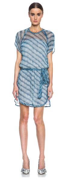 Etoile Isabel Marant Zaggy Silk Dress