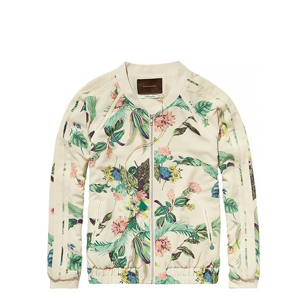 Scotch & Soda Silky Feel Bomber Jacket